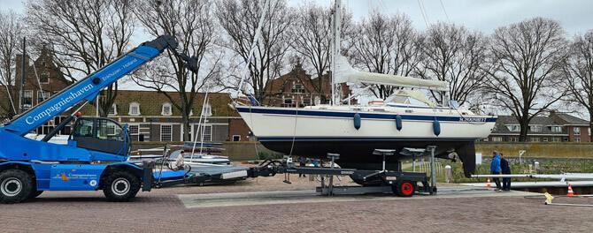 Technische check bij Connect Yachtbrokers